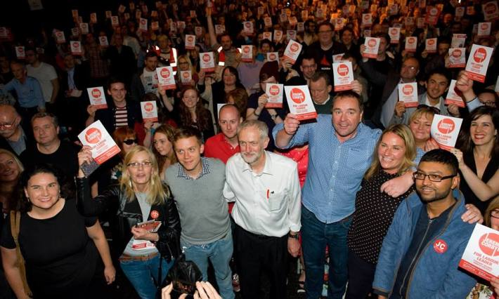 corbyn campaigners